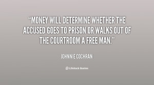 Picture Johnny Cochran Quotes