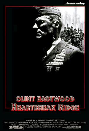 El sargento de hierro ( Heartbreak Ridge , 1986).