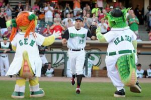 ... out at Class A Dayton on Tuesday. (Nick Falzerano/Dayton Dragons