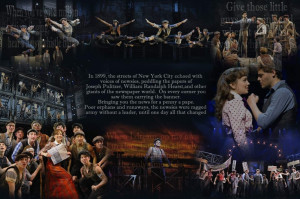 Newsies. Made this on my computer out of pictures and quotes