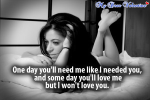 wont say ill miss you - Missing You Picture Quotes