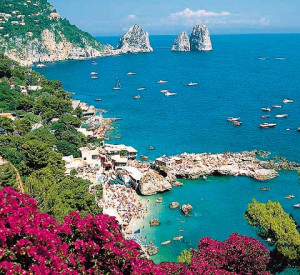 You'll love the Isle of Capri.