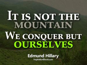 Self Conquer Quotes