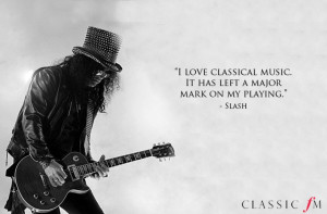 Classical music quotes from rock musicians