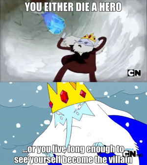 Adventure Time feels ice king