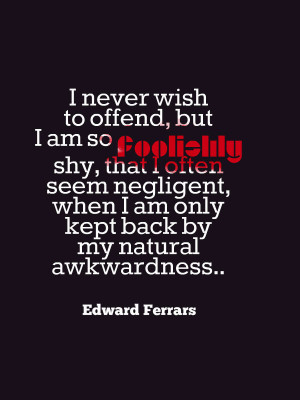 Quotes About Shy People