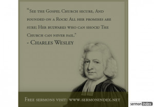Charles Wesley Quote