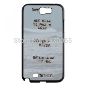 Beautiful Famous quotes Case For Samsung Galaxy Note 2 N7100 Superior ...