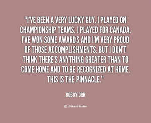 Bobby Orr Quotes