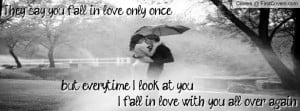 Fall in love all over again 2 Profile Facebook Covers