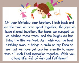 ... item on your bucket list. But before that, happy birthday, brother