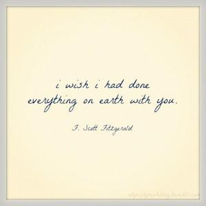 Scott Fitzgerald.