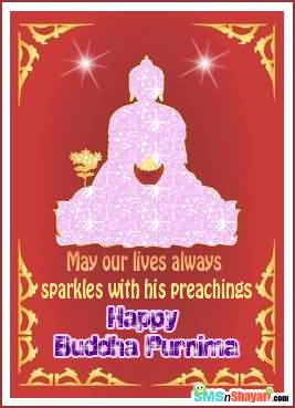 May Our Lives Always Sparkles With His Preachings Happy Buddha Purnima