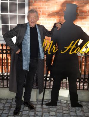 Ian McKellen Picture 67 UK Premiere of Mr Holmes Arrivals