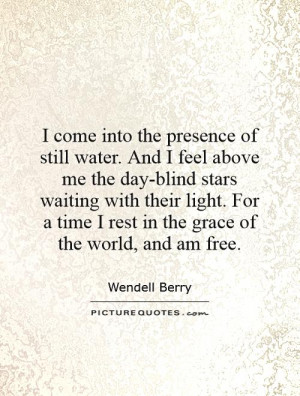 Quotes by Wendell Berry