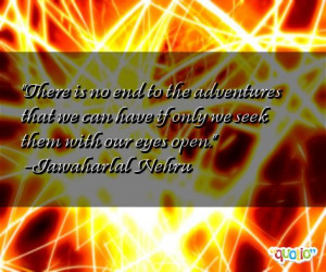 Quotes about Adventures