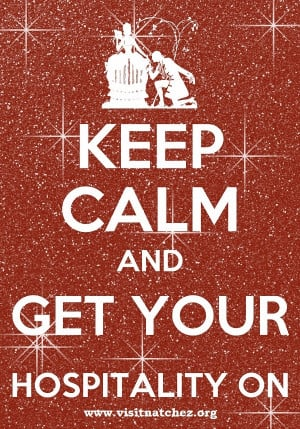 KEEP CALM AND GET YOUR HOSPITALITY ON