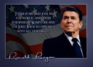 Quotable Quotes: President Ronald Wilson Reagan
