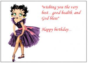 All Graphics » betty boop HAPPY birthday
