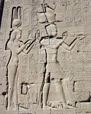 Egyptian Pharaoh Cleopatra VII Declares Son Ptolemy XV Caesarion Co ...