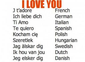 Love You In Italian i love you: english puts the