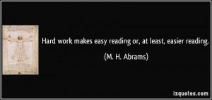 More M. H. Abrams Quotes