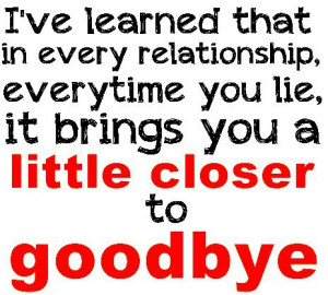 Quotes About Lying In A Relationship Quotes about lies in a