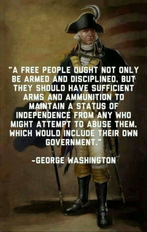 Some people consider our founding fathers to be radicals. I like ...