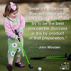 golf teaches success baby golf rules # startyoungerplaylonger ...