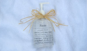 Personalized Hand Sanitizer For Teacher and A Round-Up Of Ideas