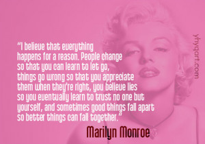... for this image include: believe, life, love, Marilyn Monroe and quote