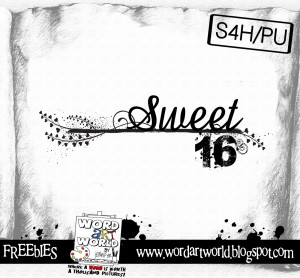 Sweet 16 Poems And Sayings