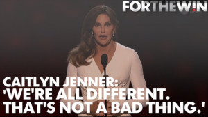 caitlyn jenner speech quotes
