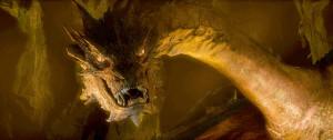 Smaug - The Hobbit: The Desolation of Smaug Wallpaper (2700x1134)