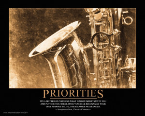 PRIORITIES - Clarence Clemons
