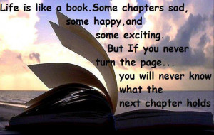 Quote Life is like a book