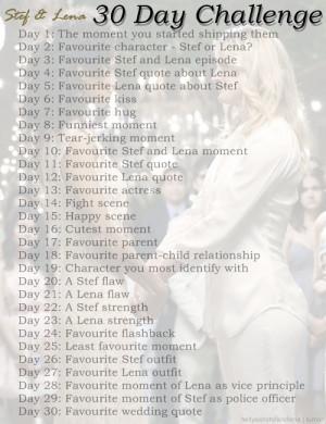 Stef & Lena → 30 Day Challenge