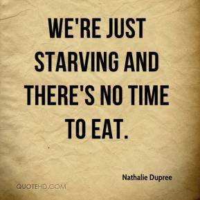 Starving Quotes