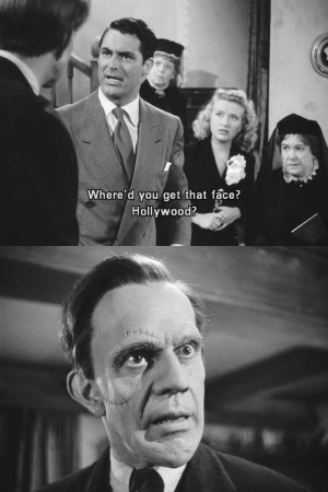 Cary Grant in one of my all time favorites - Arsenic and Old Lace.