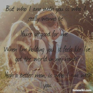 Chris Young ~ Who I Am With You