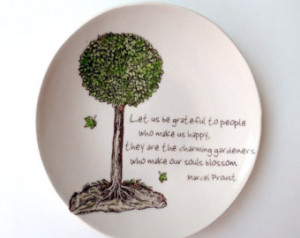 Inspirational Quote . Marcel Prous t . Jewelry Dish . Friendship and ...