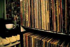 Vinyl record collection :*