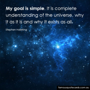 Stephen Hawking Famous Quotes