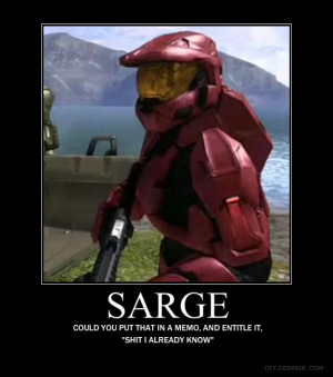 sarge by Crosknight