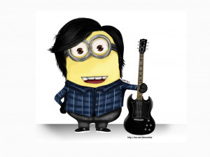 Funny-Minion-Rock-Style