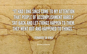"From Leonardo da Vinci, Renaissance Genius : ""It had long since come ..."