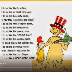 And Now A Bit From Dr. Seuss