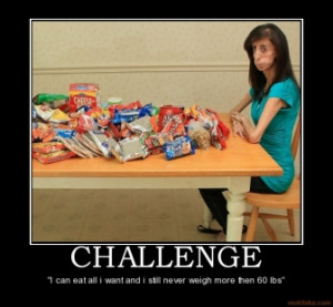 TAGS: food skinny anorexia challenge progeria