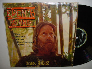 EDEN AHBEZ Eden's Island LP Exotica Hippie NM ST Shrink