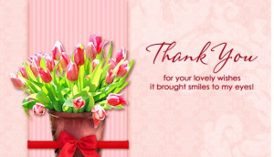 Lovely Wishes thank you quotes